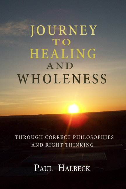 journey to health and wholeness, front cover