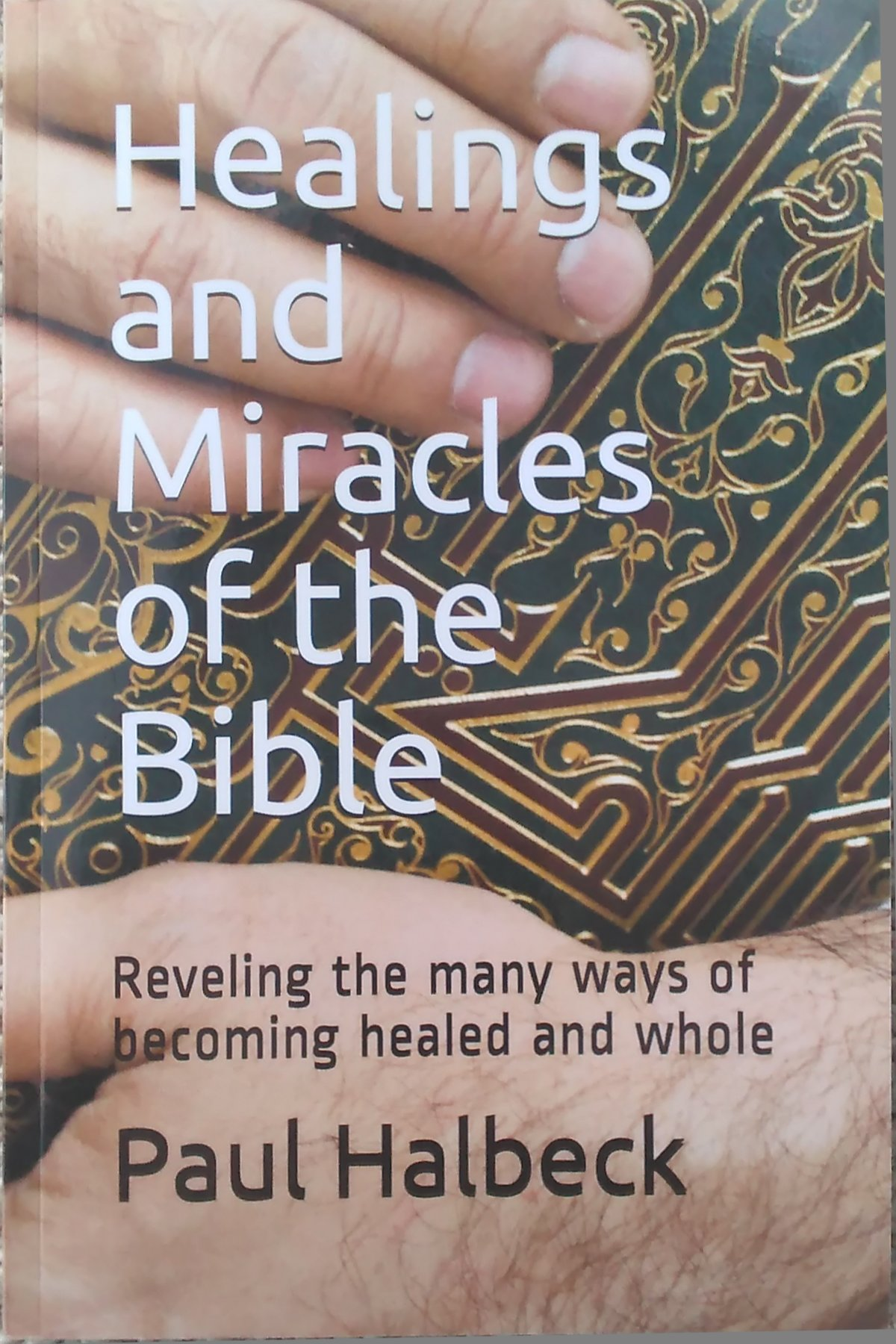 Healings of the Bible, front cover